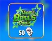 Double Bonus Poker 50 Hand